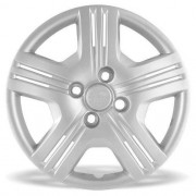 Calota Grid Aro 15 Prata Honda Fit 2010 a 2013 Unidade