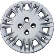 Calota Grid Premium Aro 14 Metalizada Ford New Fiesta 2014