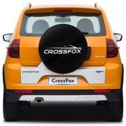 Capa para Estepe Basic Vw CrossFox 2005 a 2017 Basic Aro 15 Com Cadeado