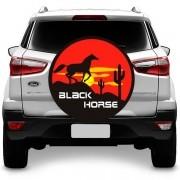 Capa para Estepe Cavalo Negro Fox Ecosport Doblo