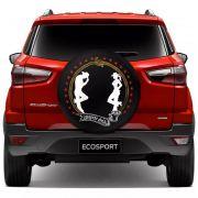Capa para Estepe CowBoy Country Style Ecosport CrossFox 2005 a 2017 Air Cross 2011 a 2017 Spin Activ 2015 a 2017 Com Cadeado