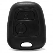 Capa telecomando Peugeot 206 207 306 Citroen C3 Picasso Berlingo 2 Botões com contracapa