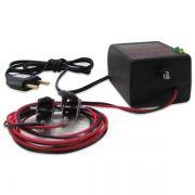 Carregador de Bateria para Moto 12v 1 Ampere Bivolt