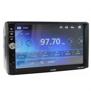 Central Multimídia Mp5 2 DIN 6.2' Touch Screen USB SD AUX Bluetooth Espelhamento
