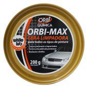 Cera Automotiva Limpadora Orbi Max para Todos os Tipos de Pinturas
