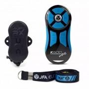 Controle Longa Distância JFA K600 600 Metros Preto Com Tecla Azul