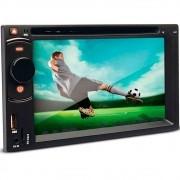 DVD Player Automotivo Dazz DZ-52216BT DTU Tela 6.2 CD USB Touch Screen Bluetooth TV Digital