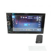 DVD Player Multimídia HDV-4010 Tela 6.2 Touch Screen USB Bluetooth Espelhamento Tela 6,2