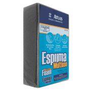 Espuma Esponja Atlas Multiuso 20x13x6 cm Para lavar Carro Limpeza em geral