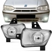 Farol de Milha Fiat Palio Weekend Siena 1996 a 2000 Strada 1998 a 2000 Lado Direito