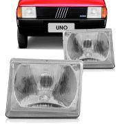 Farol Principal Fiat Uno Prêmio Elba Fiorino 1984 a 1990 Uno Mille 1991 em diante Lado Direito