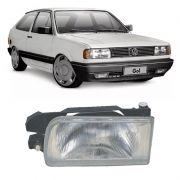 Farol Principal Orgus Volkswagen Gol Voyage Parati Saveiro 1991 a 1994 Esquerdo
