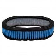 Filtro ar esportivo oval 40mm Azul Para carburador