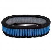 Filtro Ar Esportivo Oval 55mm Azul Para carburador