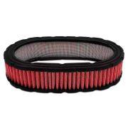 Filtro Ar Esportivo Oval 55mm Vermelho Para carburador