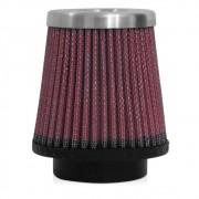 Filtro de Ar Esportivo Rs Air Filter Cônico 52mm Vermelho