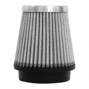 Filtro de Ar Esportivo Rs Air Filter Cônico 62mm Prata