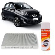 Filtro de Cabine Nissan March 1.0L 1.6L 16V 2011 a 2013 Versa 1.6L16V 2011 a 2013