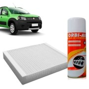 Filtro do Ar Condicionado Cabine Fiat Cinquento Grand Siena Strada Novo Uno Novo Palio + Higienizador