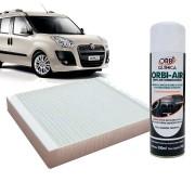 Filtro do Ar Condicionado Cabine Fiat Doblo 2001 em diante com Limpa Ar Condicionado