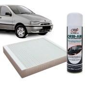 Filtro do Ar Condicionado Cabine Fiat Palio 1996 a 1998 com Limpa Ar Condicionado