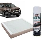 Filtro do Ar Condicionado Cabine GM Cobalt Cruze Sonic Spin Onix Tracker com Limpa Ar Condicionado