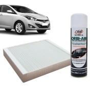 Filtro do Ar Condicionado Cabine Hyundai HB20 todos com Limpa Ar Condicionado