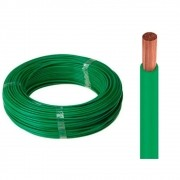 Fio Flexível para Instalação Automotiva 1,50mm 100 Metros Verde