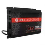 Fonte Automotiva JFA 60A 3000W SCI Carregador Bateria Bivolt Display LED Voltímetro Amperímetro
