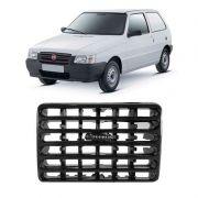 Grade Difusor de Ar Painel Lateral Fiat Uno 1995 a 2009 Esquerdo