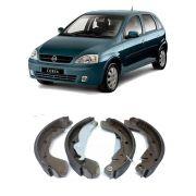 Jogo de Sapata com Lona Chevrolet Vectra Astra 1998 em Diante Zafira 2002 em Diante Montana Corsa 2003 em Diante