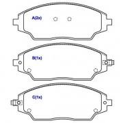 Jogo Pastilha de Freio Dianteira Gm Cobalt 1.4 1.8 8v Com ABS  Sonic LT LTZ 16. 16v Spin LT LTZ 1.8 8v 2012 em diante