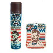 Kit Aromatizante e Silicone Spray Central Sul Men America
