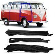 Kit Completo Borracha Porta Vw Kombi 1500 até 1974