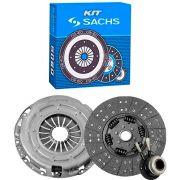 Kit Embreagem Ford Fiesta Ecosport Ka 1.0 1.3 1.6 8V Endura Zetec Courier 1.4 16V 1.6 8V Zetec Todos 1998 a 2005 Escort Zetec 1.6 8V Focus 1.6