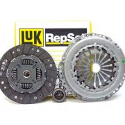 Kit Embreagem LUK 18 Estrias Gol 1.0 16v AT 1997 a 2002 Parati 1.0 16v AT 1997 a 2000