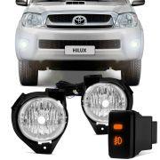 Kit Farol de Milha Toyota Hilux 2005 a 2009