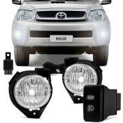 Kit Farol de Milha Toyota Hilux SRV SR 2009 a 2011
