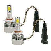 Kit Lâmpada Led Headlight 2D HB4 3800 Lumens Super Branca 12V 24V