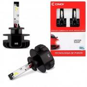 Kit Lâmpada Super Led Headlight Cinoy H1 32w 6500k 12V e 24V