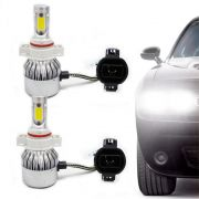 Kit Lâmpada Super Led Headlight DLUX H16 6000K 12V e 24V Efeito Xenon