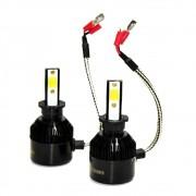 Kit Lâmpada Super Led Headlight H3 8000K 12V 24V