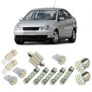 Kit Lâmpadas de Led Completo para Volkswagen Polo Hatch Sedan até 2015