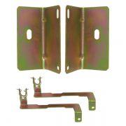 Kit Suporte para Trava Elétrica Fiat Palio Strada 2 Portas 1996 a 2012
