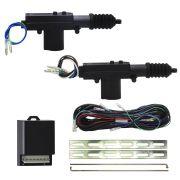 Kit Trava  Elétrica Universal Mono Serventia 2 portas