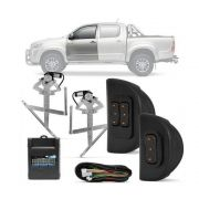 Kit Vidro Elétrico Dianteiro Sensorizado Toyota Hilux 4 portas 2005 a 2015