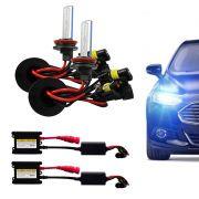 Kit Xenon Completo H8 8000K Tonalidade Azulada