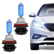 Lâmpada Automotiva Farol H11 12V 55W 8500K