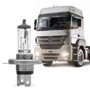 Lâmpada do Farol Osram Truckstar H4 24V 75 70W Halógena