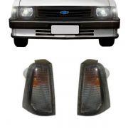 Lanterna Dianteira Pisca Chevrolet Chevette 1983 em Diante Ambar Lado Direito